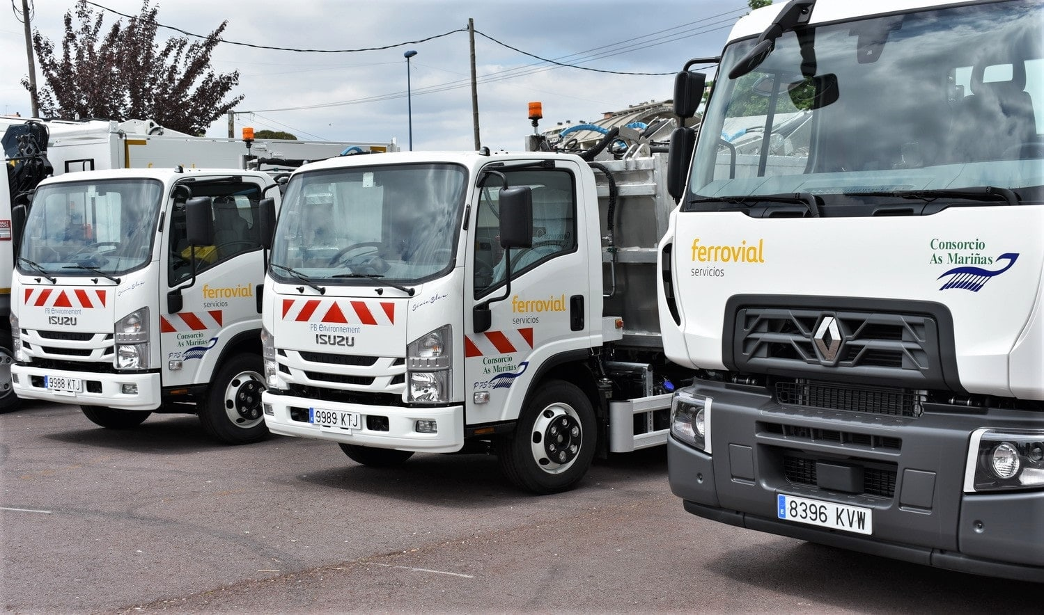 The new vehicles were chosen according to criteria on sustainability, efficiency, and technical quality