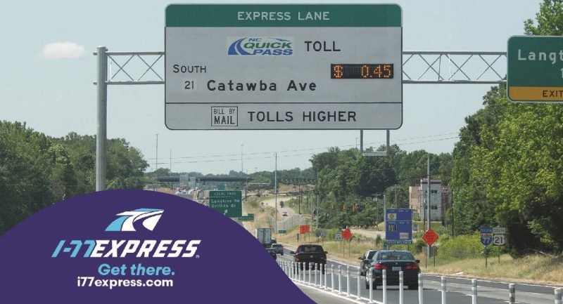 I-77 opens its northern section