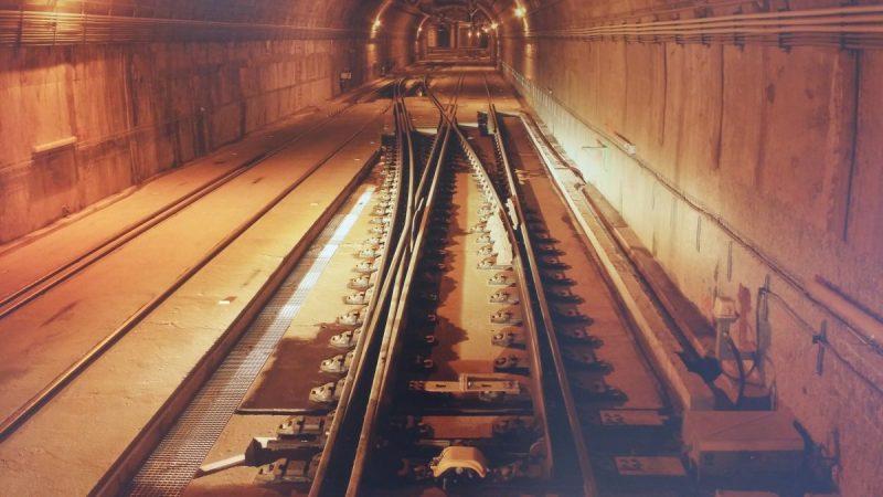 Imagen de un túnel de la red ferroviaria
