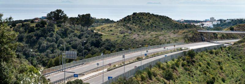 Carretera construida por Ferrovial bajo los parámetros de lucha contra el cambio climático