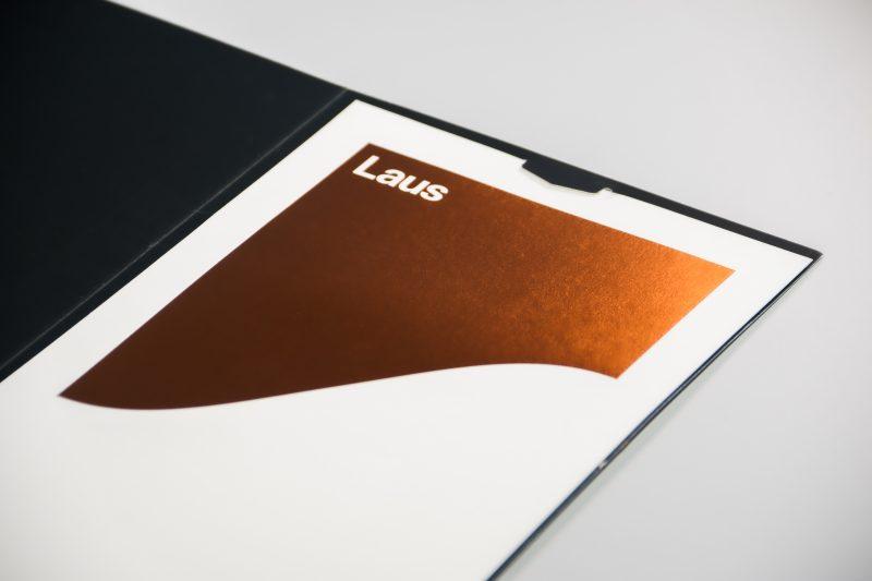 Imagen del sello de los premios Laus