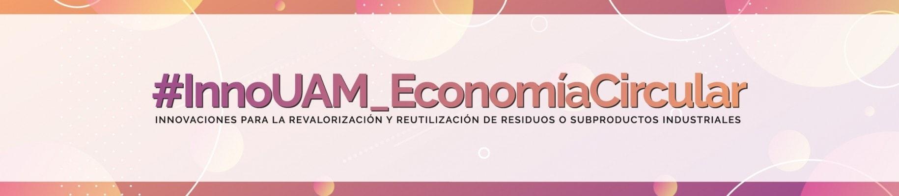 Logo con el nombre del evento sobre economía circular en el que participa Ferrovial Servicios en la Universidad complutense de madrid
