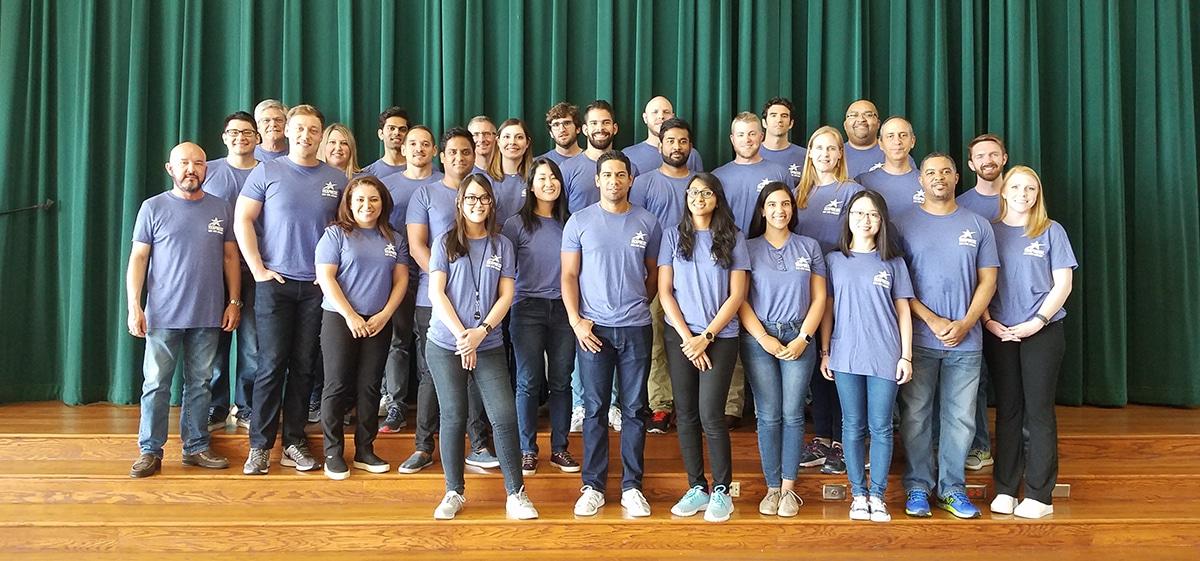Volunteers LBJ Express Camp