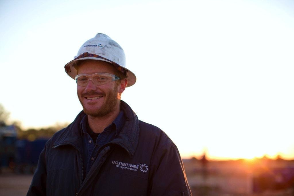 Image of an Easternwell employee
