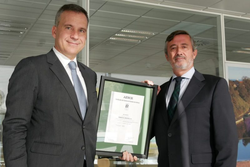 AENOR certifies Ferrovial Services for its Asset Management System