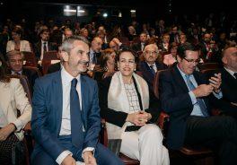 Imagen del Presidente de la Fundación Adecco y la ministra Magdalena Valerio en el acto #CEOPorLaDiversidad