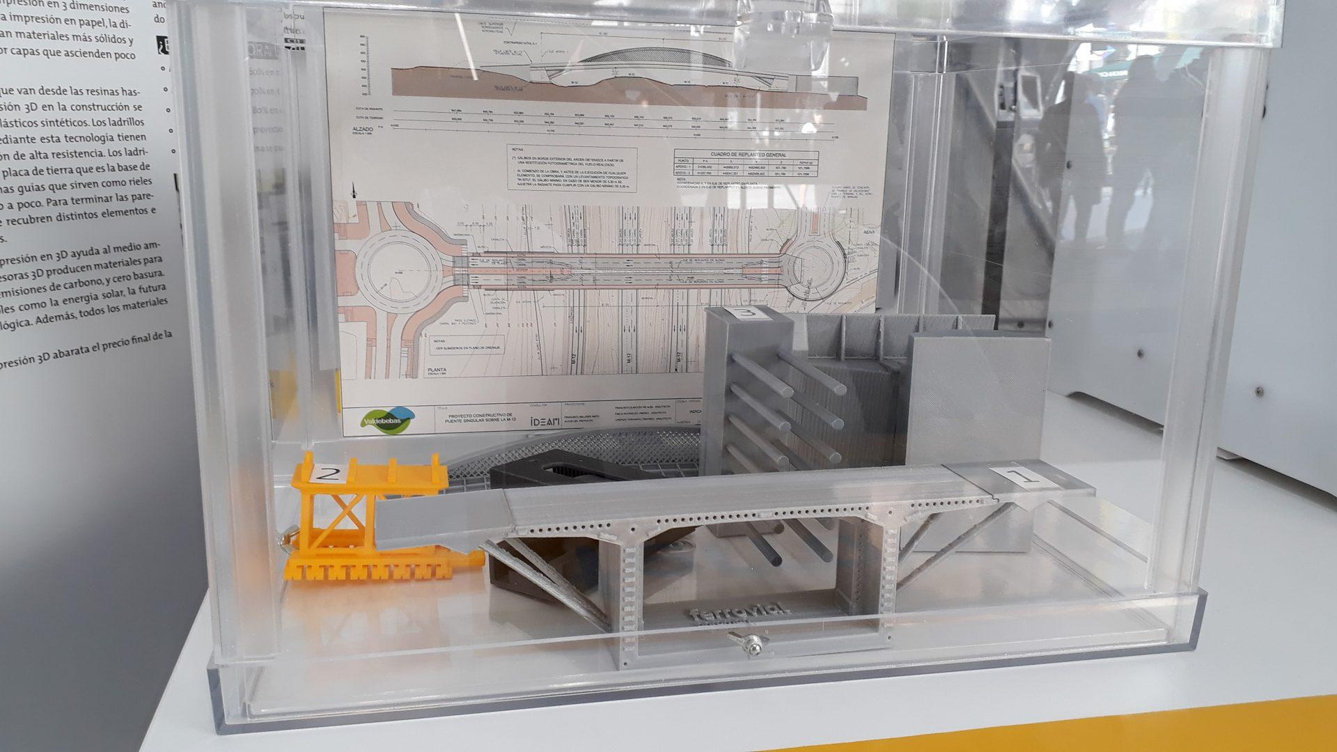 Imagen de los prototipos mostrados en la V semana de la ingeniería