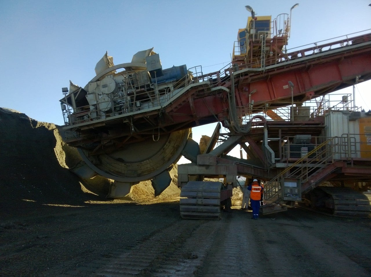 Image of the Codelco copper mine