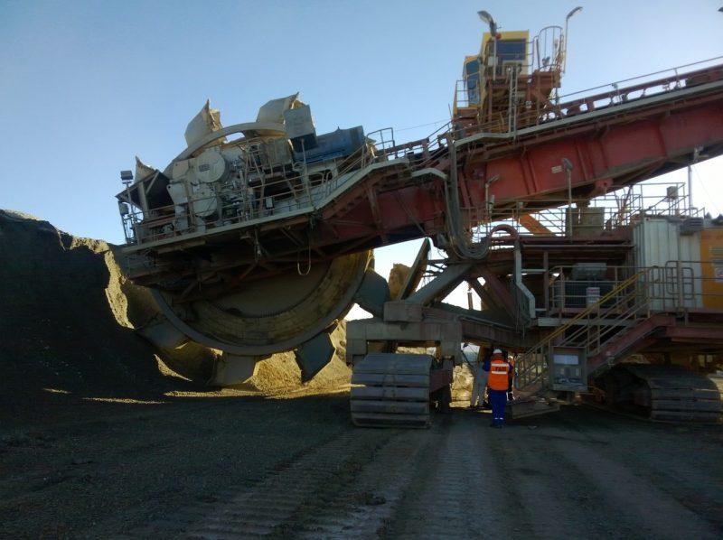 Imagen de la mina de cobre de Codelco