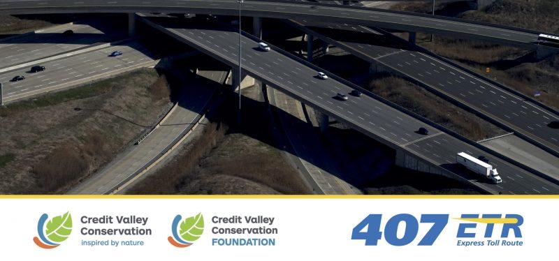 407 ETR y Credit Valley Conservation Foundation anuncian un acuerdo