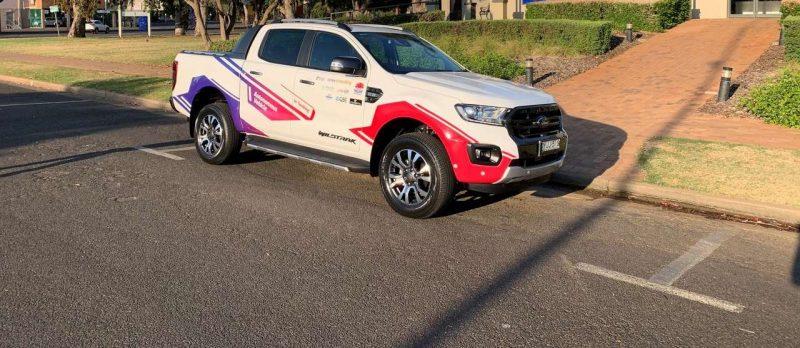 Imagen del vehículo autónomo testado en Australia