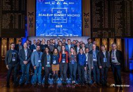 foto equipo representantes innovación scaleup summit2020