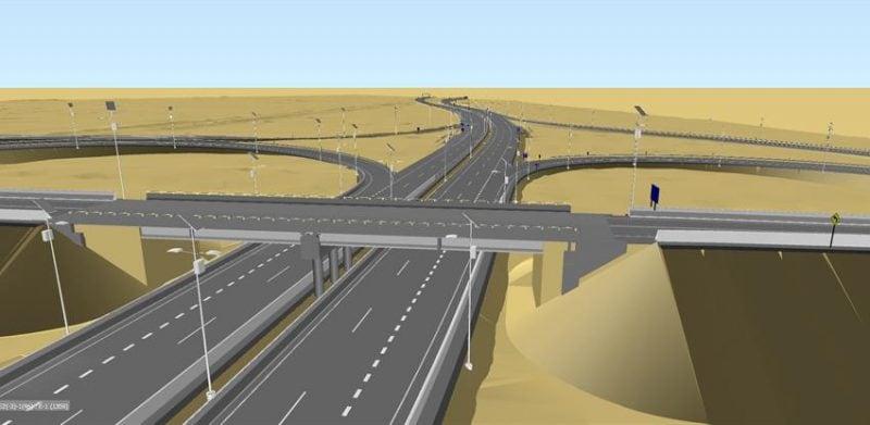 carretera ilustración