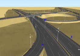 Ilustración carretera El Carmen Alto