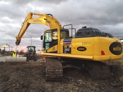 Webber Awarded $63.8M IH 35 TxDOT Expansion Project in New Braunfels, TX