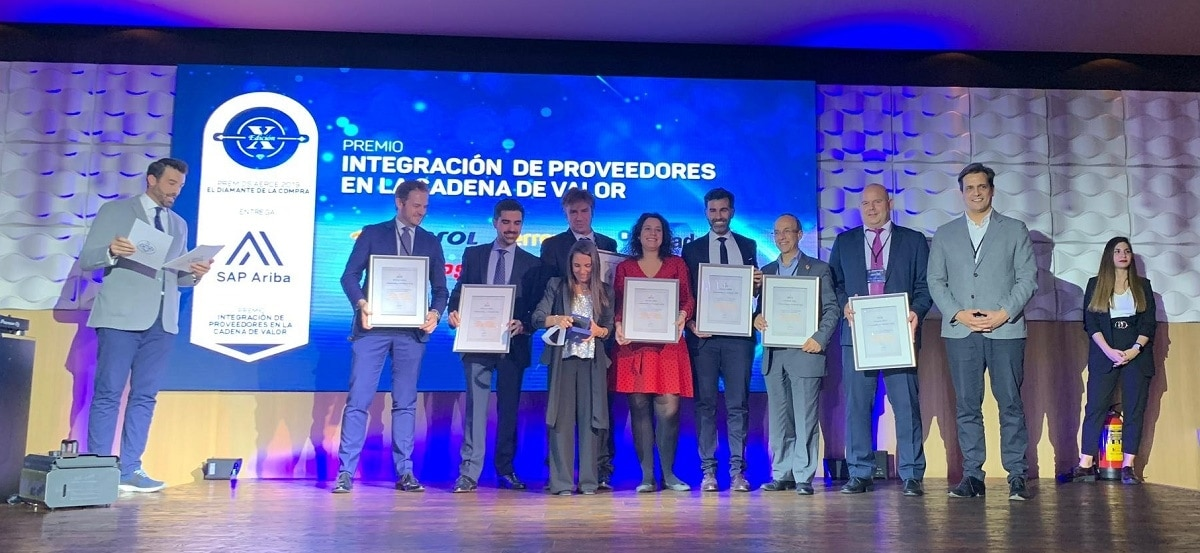 Ferrovial Receives the AERCE Award for Innovation, Effectiveness, and Leadership in Resource Management for the Purchasing Process.