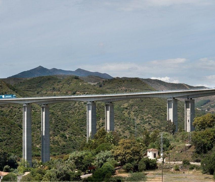 ausol highway in Malaga, Spain by Cintra