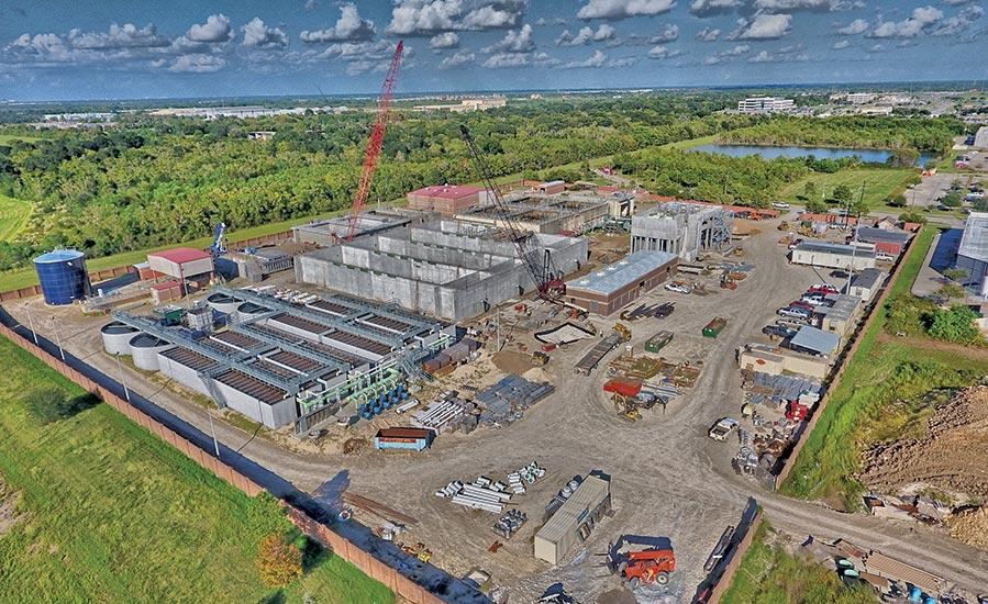 El proyecto de la planta de tratamiento de aguas residuales de Pearland