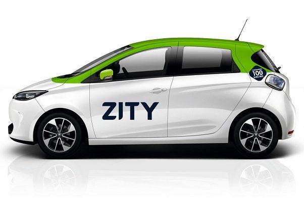 Lateral izquierdo vehículo ZITY