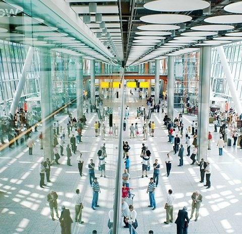 Heathrow T5A Arrivals