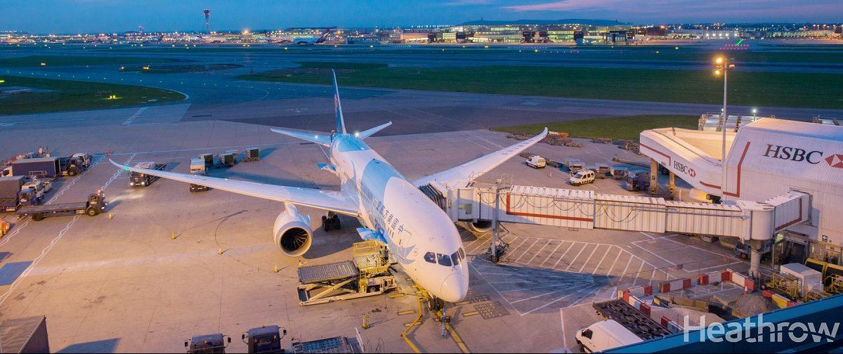 Boeing 747 Heathrow