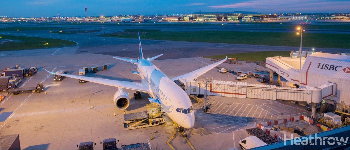 Avión Boeing 747 Heathrow