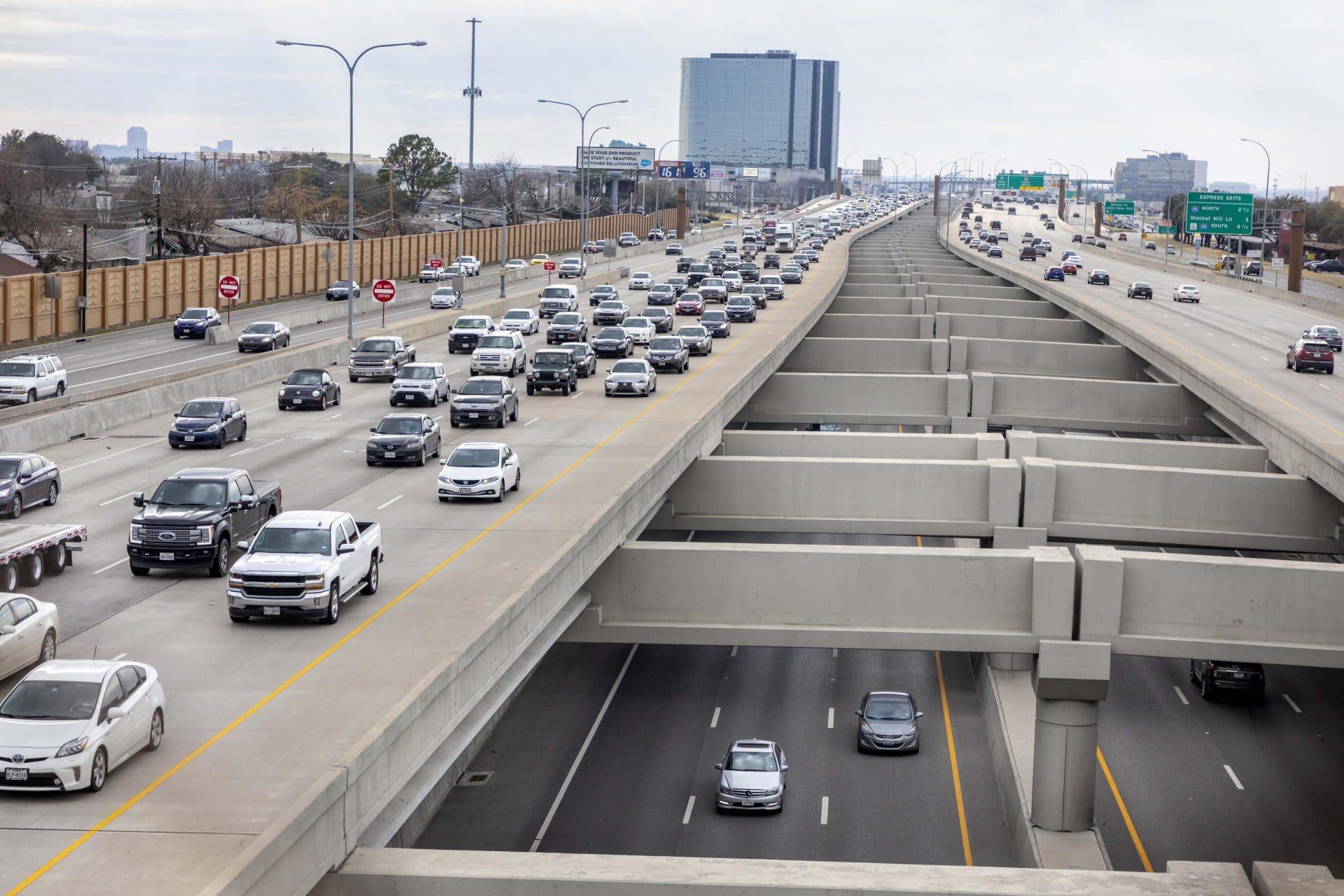 Autopista LBJ en Texas