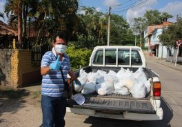 Ruta del Cacao Donates Staple Products to the Most Vulnerable Families Along Its Corridor