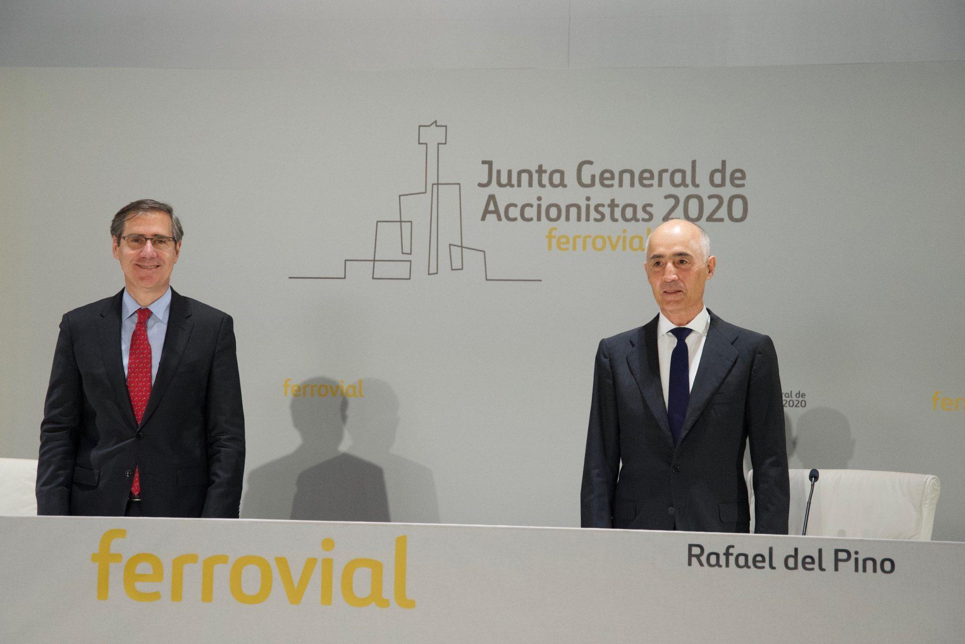 Rafael del Pino e Ignacio Madridejos Junta General 2020