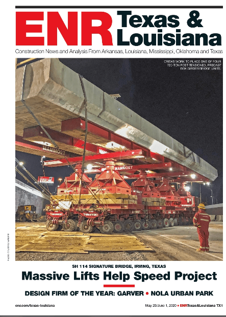 ENR May 25 Cover Featuring Webber project