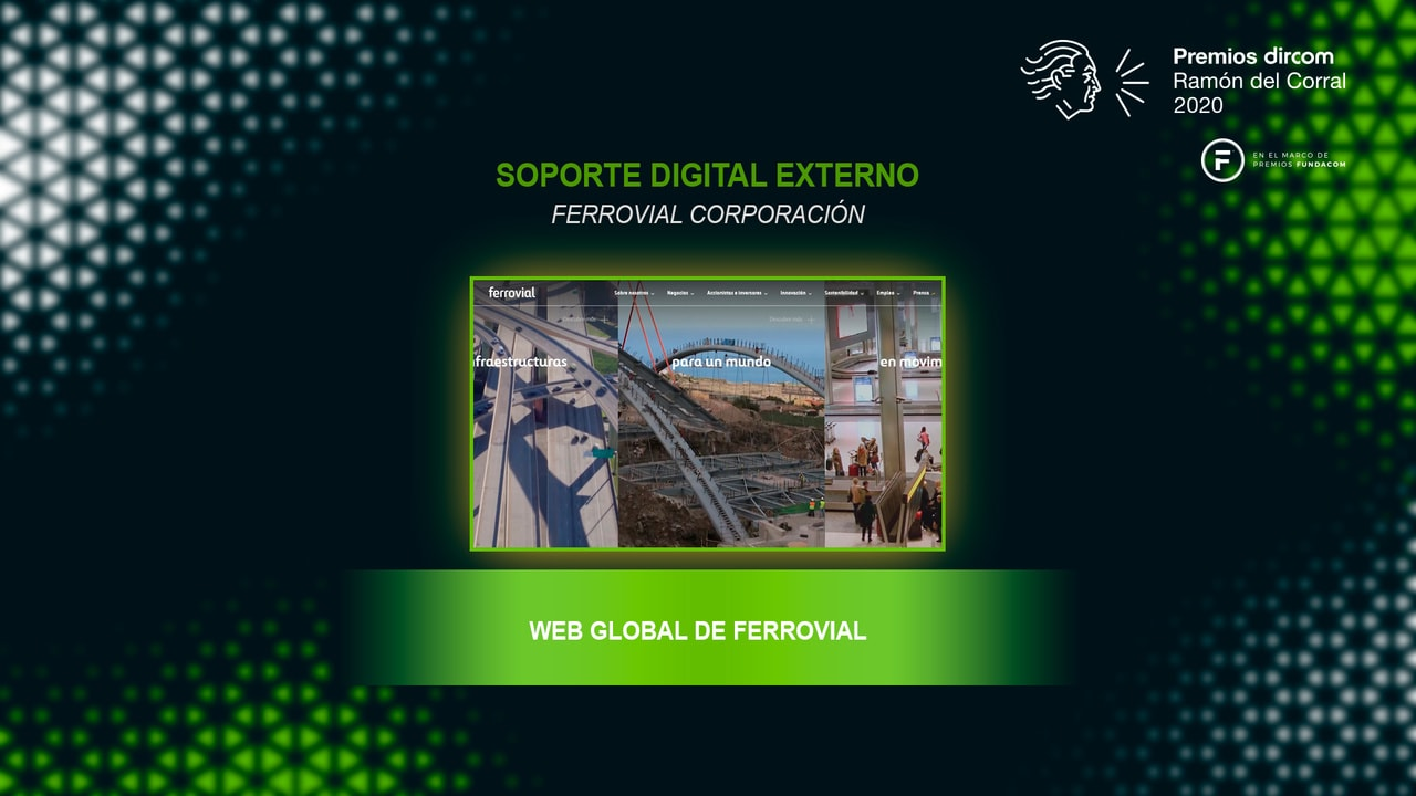 Ferrovial's Global Website Award