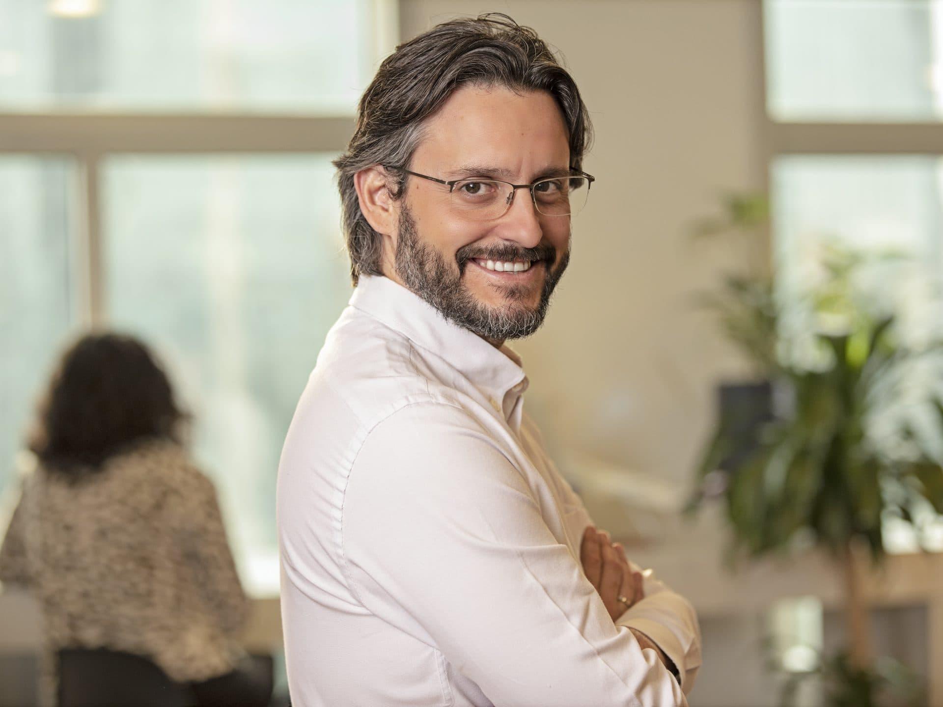 Dimitris Bountolos, director general de Sistemas de Información e Innovación de Ferrovial