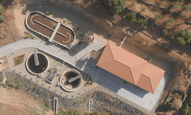 cadagua project water treatment plants construction caceres