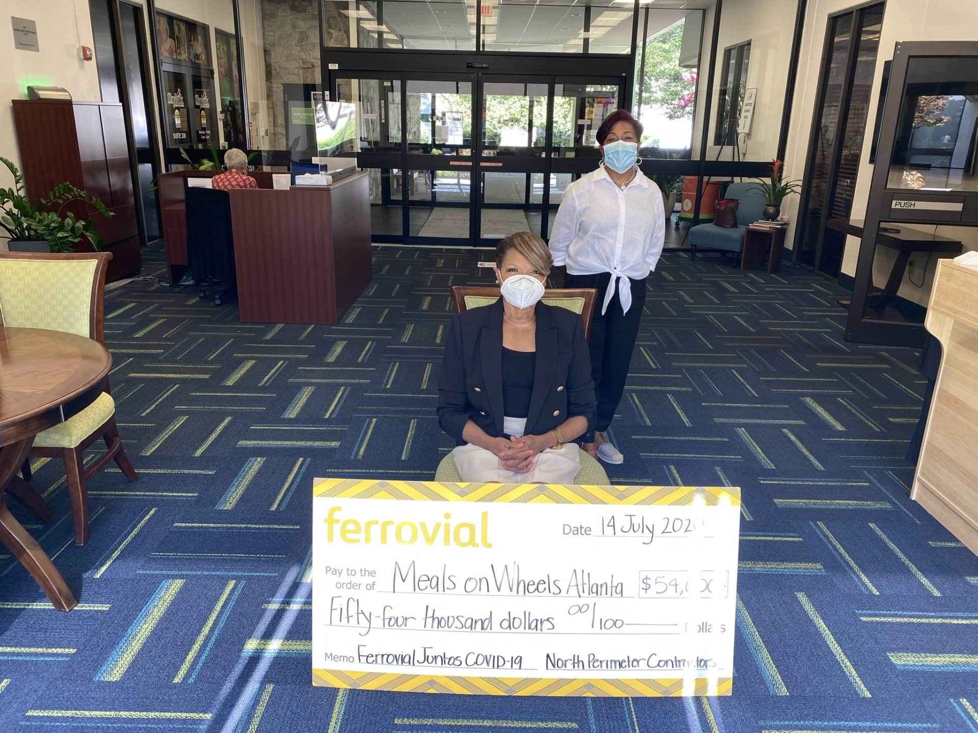 Covid19 fund Meals on Wheels Atlanta US
