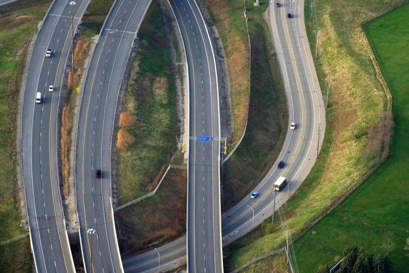 Highway 407 ETR Canada Ferrovial Construction