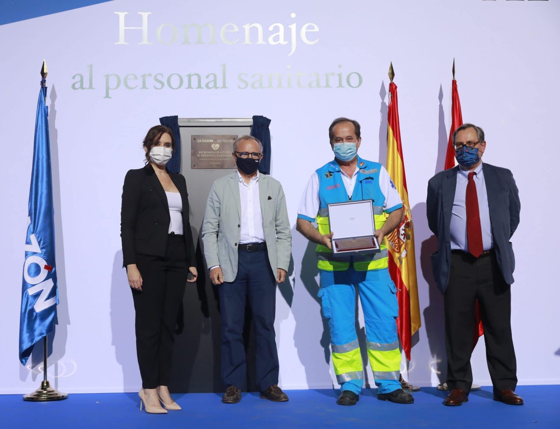 Premios sanitarios la razón pandemia covid-19
