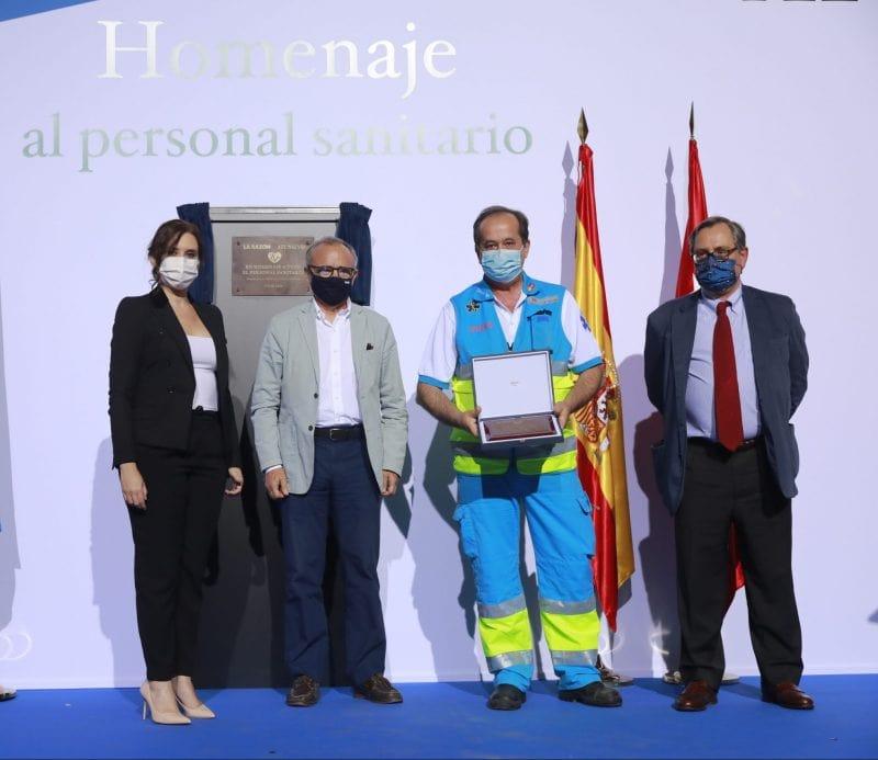 Premios sanitarios pandemia covid-19 La Razón