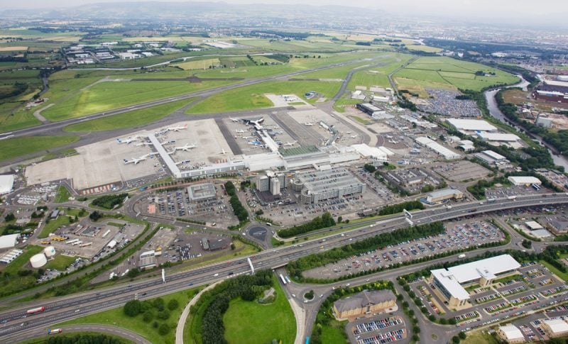 aeropuerto de Glasgow