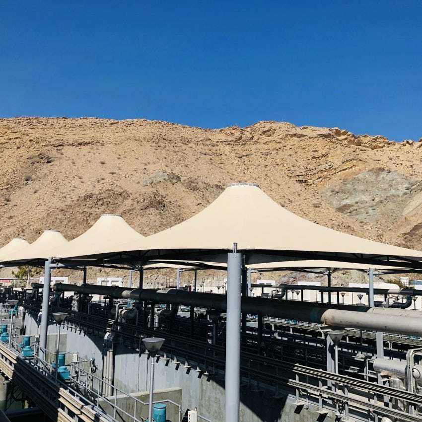 Cadagua Completes the Works of the Darsait Wastewater Treatment Plant in Oman