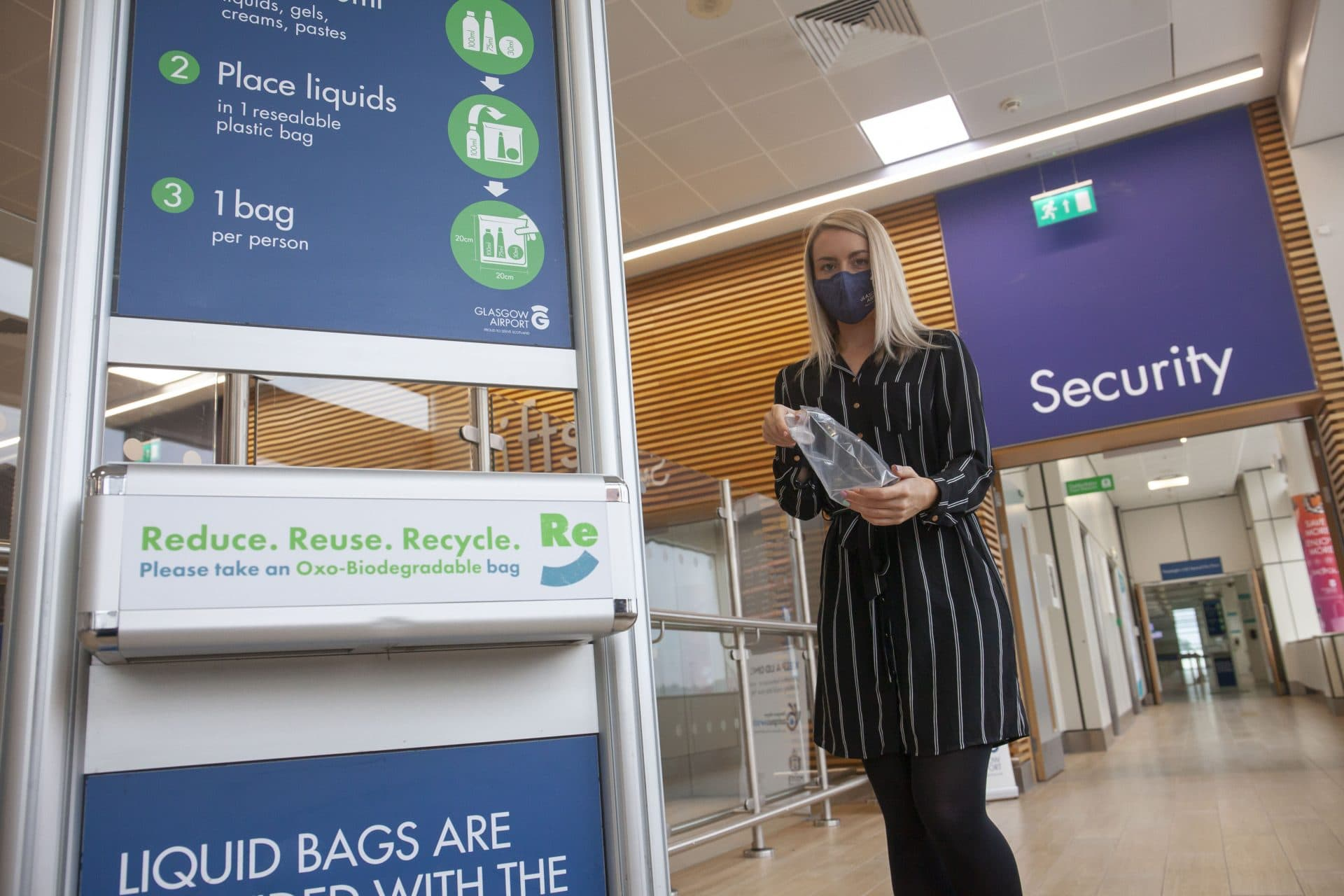 AGS Airports launches new sustainable security bags