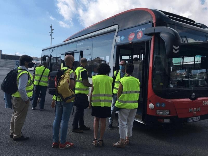 El transporte urbano de Barcelona, laboratorio urbano innovador contra la COVID-19 financiado por el Instituto Europeo de Innovación y Tecnología liderado por Ferrovial