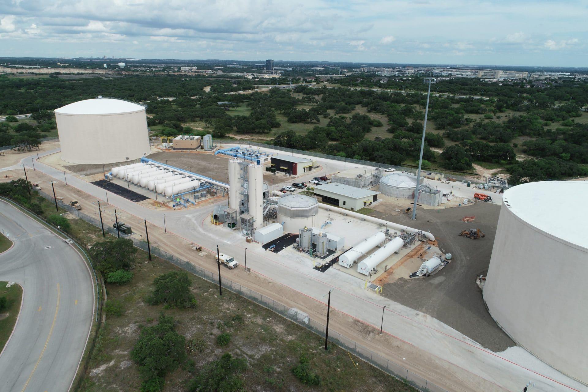 PLW Webber Cadagua Project Completion: SAWS Agua Vista Station- San Antonio, TX