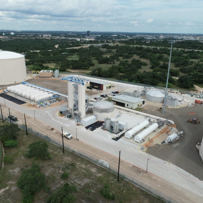 PLW Webber Cadagua Project Completion: SAWS Agua Vista Station- San Antonio, TX