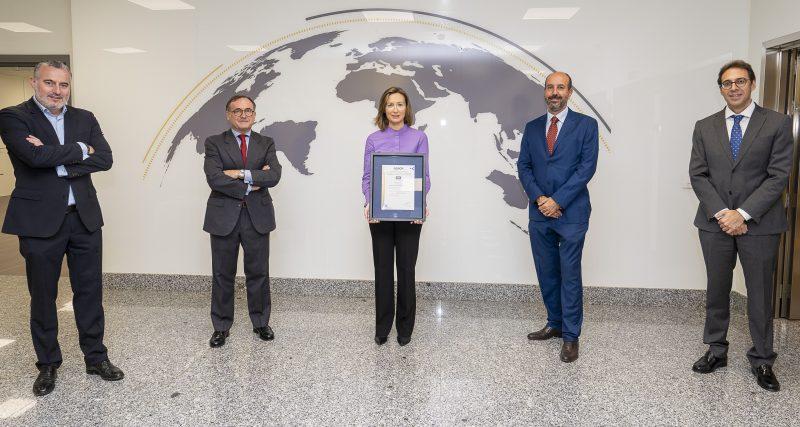 Ferrovial, primera compañía en certificar con AENOR su estrategia con los ODS