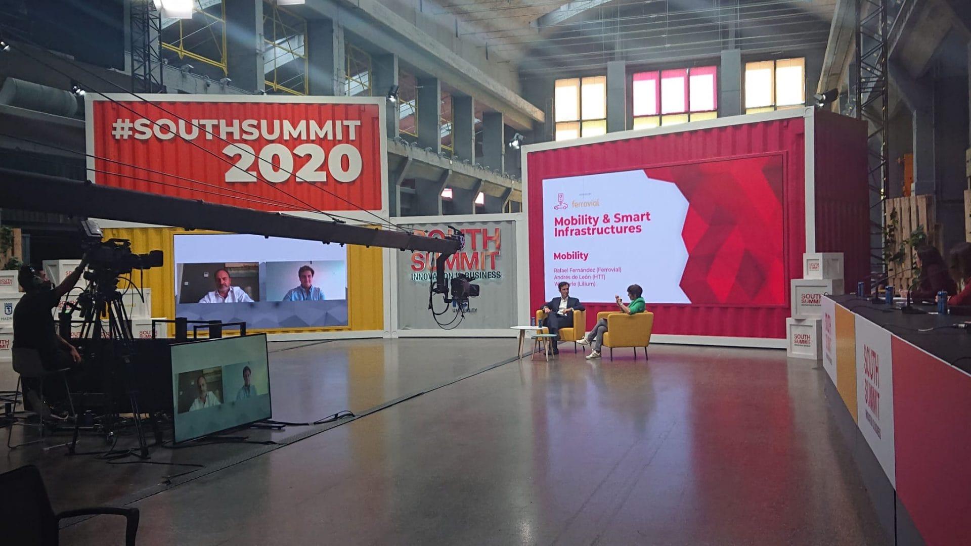 Ferrovial ha participado por séptimo año consecutivo en el South Summit