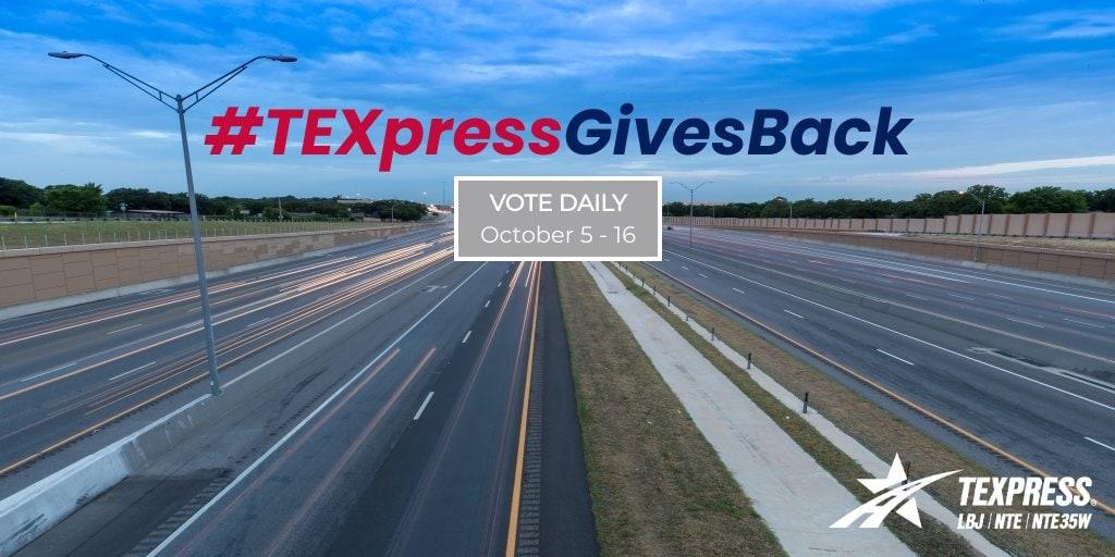texpress gives back nonprofit organizations