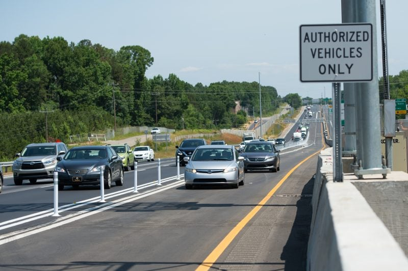 Autopista I-77, Carolina del Norte