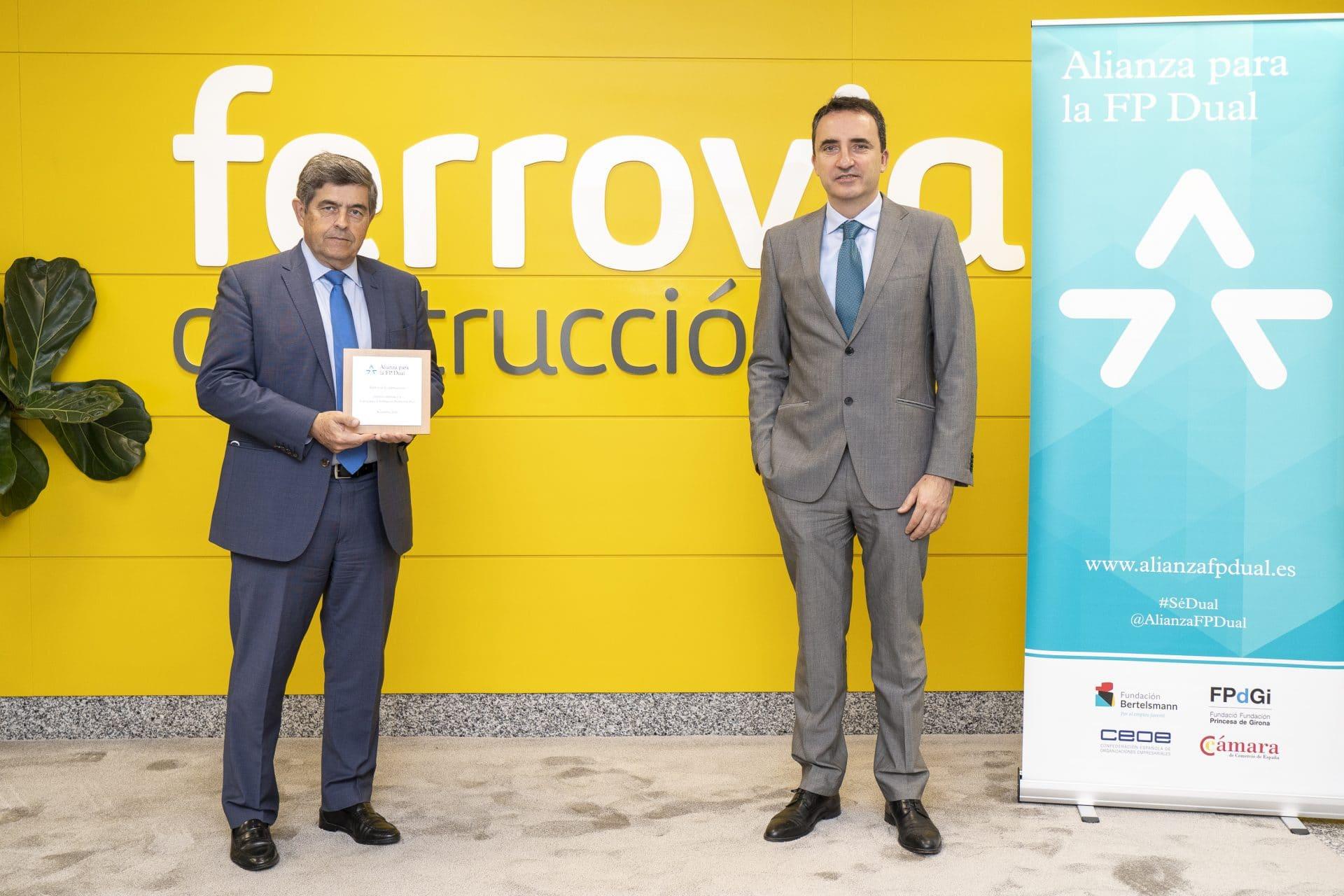 Ferrovial Construcción firma FP Dual