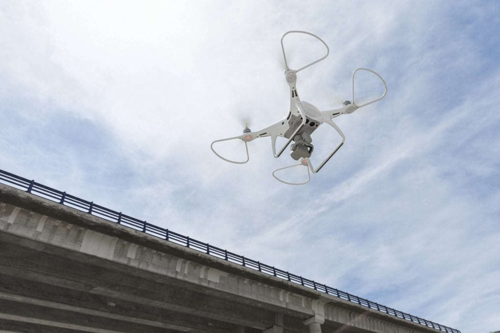 Dron Aplicacion Inteligencia Artificial Infraestructuras Mantenimiento