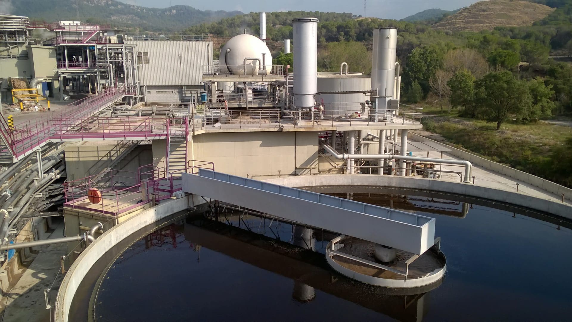 Water Treatment Plant Cadagua Contract Leadership Industrial